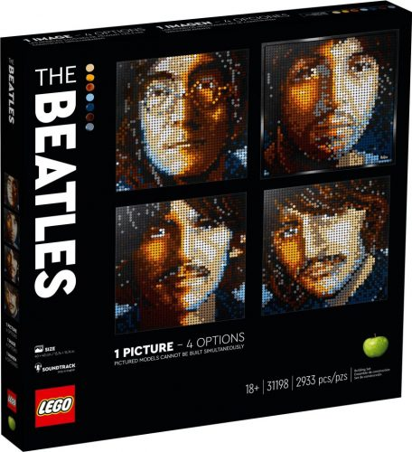 Lego Art Beatles