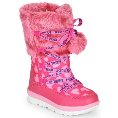 Roze Snowboots