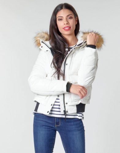 Superdry Everest Winterjas Dames Wit