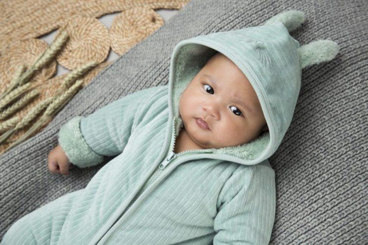 Baby Skipakje Mintgroen