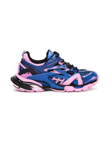 Balenciaga Pink Blue Sneakers