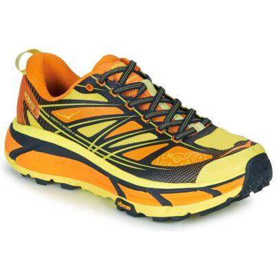 Hoka Mafate Sneakers Geel Oranje
