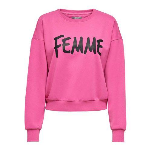 Femme Roze Trui Only