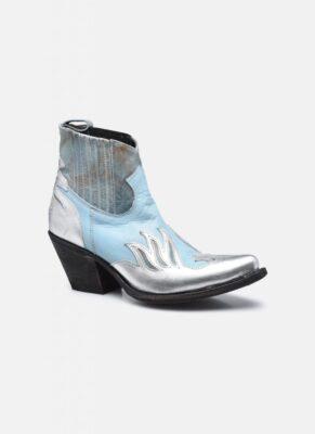 Mexicana Schoenen Blauw Zilver