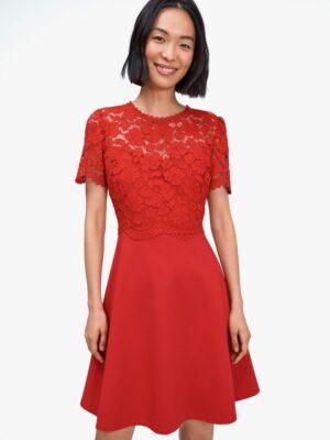 Red Dress Kate Spade