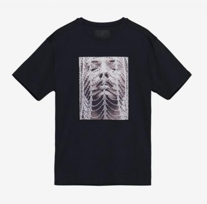 limitato-t-shirt-chains-in-de-kleur-donkerblauw