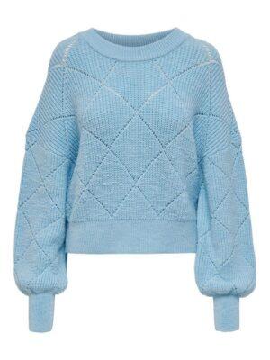 Cashmere Blue Wintertrui Only Dames