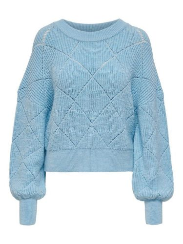 Cashmere Blue Wintertrui Only Dames
