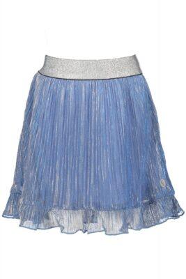 moodstreet-meisjes-rok-glitter-plisse-zacht-blauw