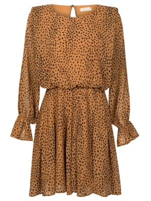 Cheetah Camel Jurk