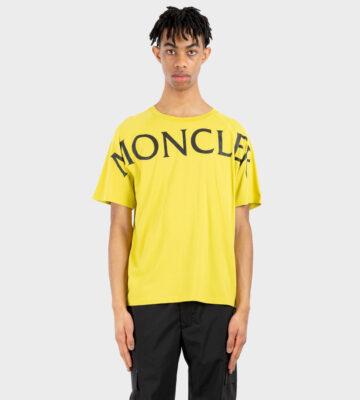 Moncler Geel Tshirt Oversize