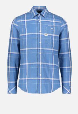Gstar Overhemd Blauw