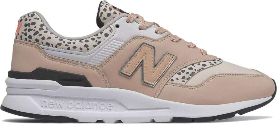 Beige New Balance Sneakers Dames