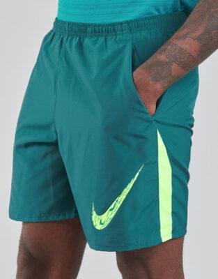 Groene Korte Broek Nike Heren