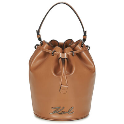 Karl Lagerfeld Cognac Bucket