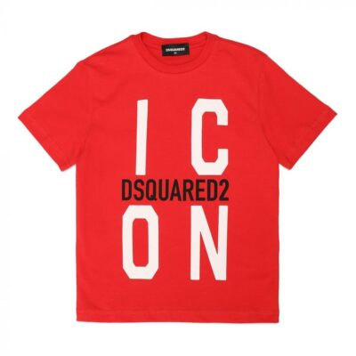 Dsquared Baby Tshirt Rood
